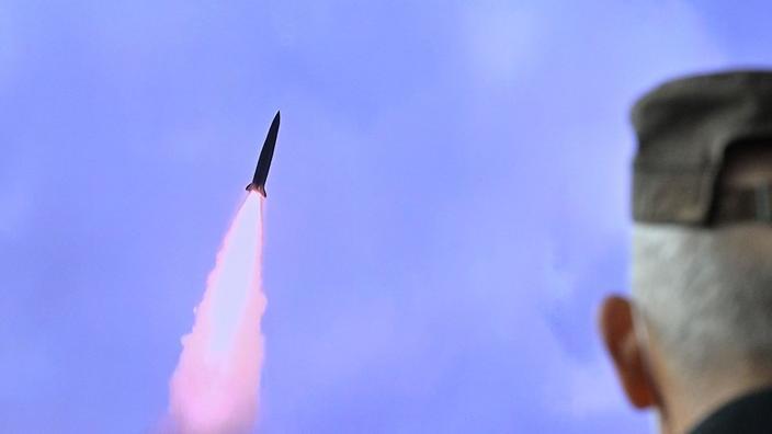 La Corée du Nord a testé un nouveau «missile balistique lancé par sous-marin»