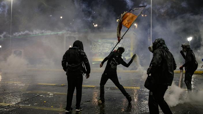 Chili: violences lors de la commémoration du soulèvement social de 2019