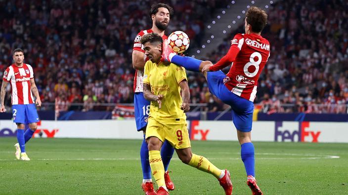 Regarder la vidéo Doublé salvateur, expulsion controversée, défaite amère… Antoine Griezmann est passé par toutes les émotions face à Liverpool