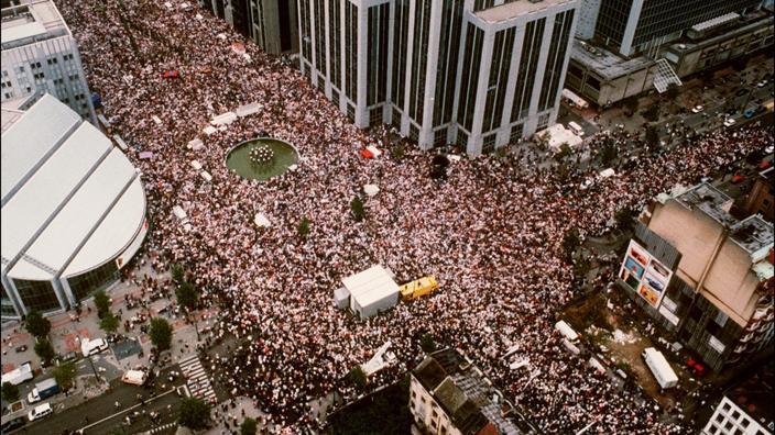 Regarder la vidéo Affaire Dutroux: il y a 25 ans, une manifestation monstre appelait aux réformes