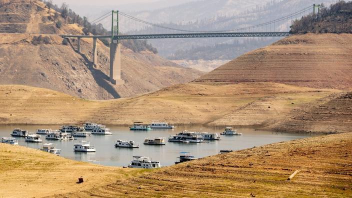 La Californie aux prises avec une sécheresse historique