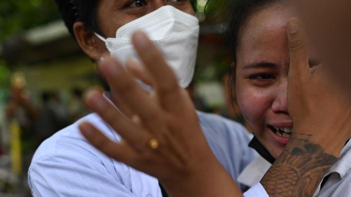 Birmanie : la junte arrête plus de 100 personnes libérées dans le cadre de l'amnistie