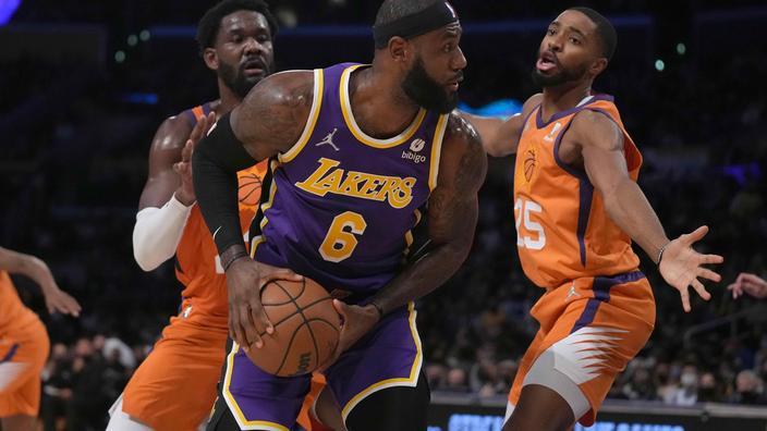 NBA : le torchon brûle déjà chez les Lakers