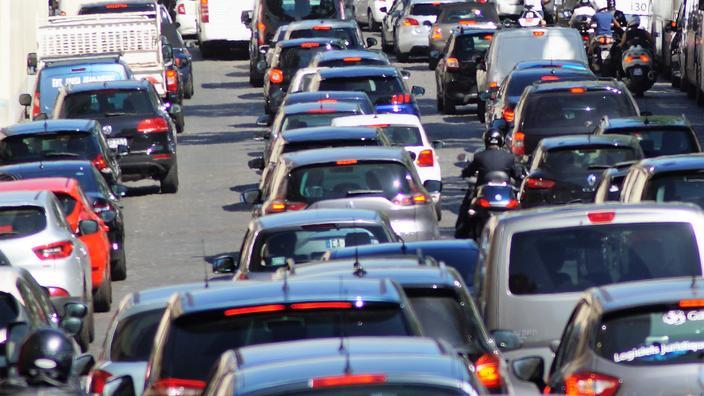 Paris : l'autoroute A13 fermée au niveau du tunnel de Saint-Cloud
