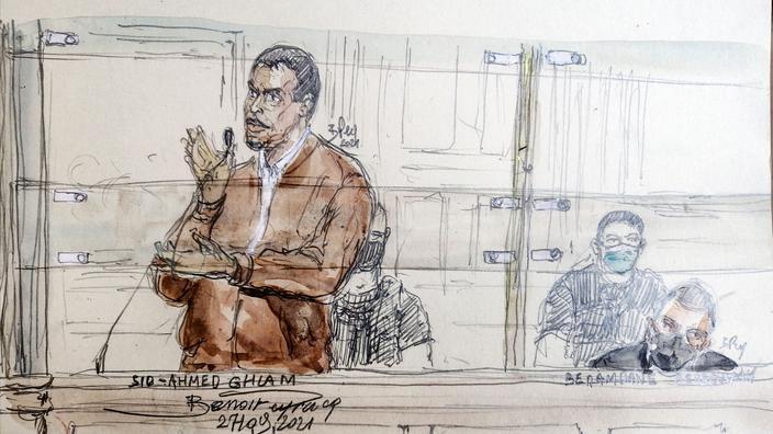 Sid-Ahmed Ghlam demande pardon pour le meurtre d'Aurélie Chatelain
