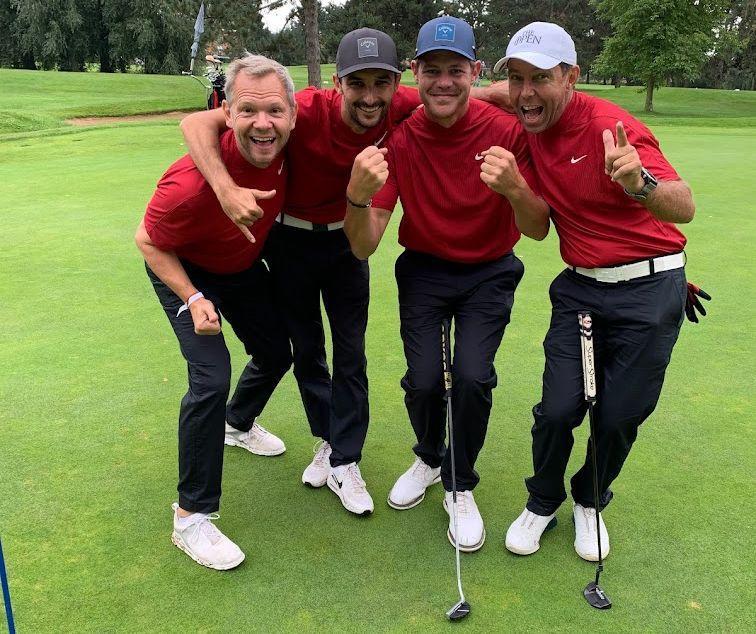 L'équipe «Mon coach de golf»