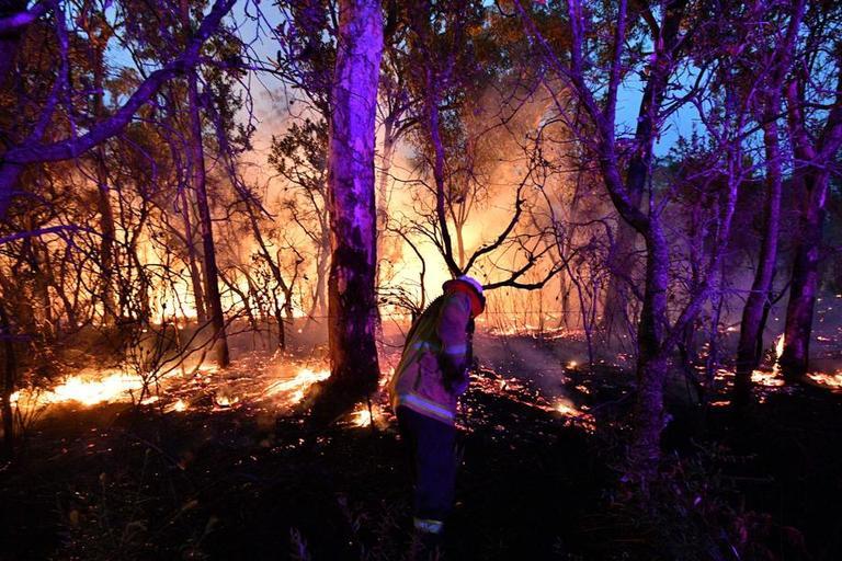 Un incendie près de Sydney.