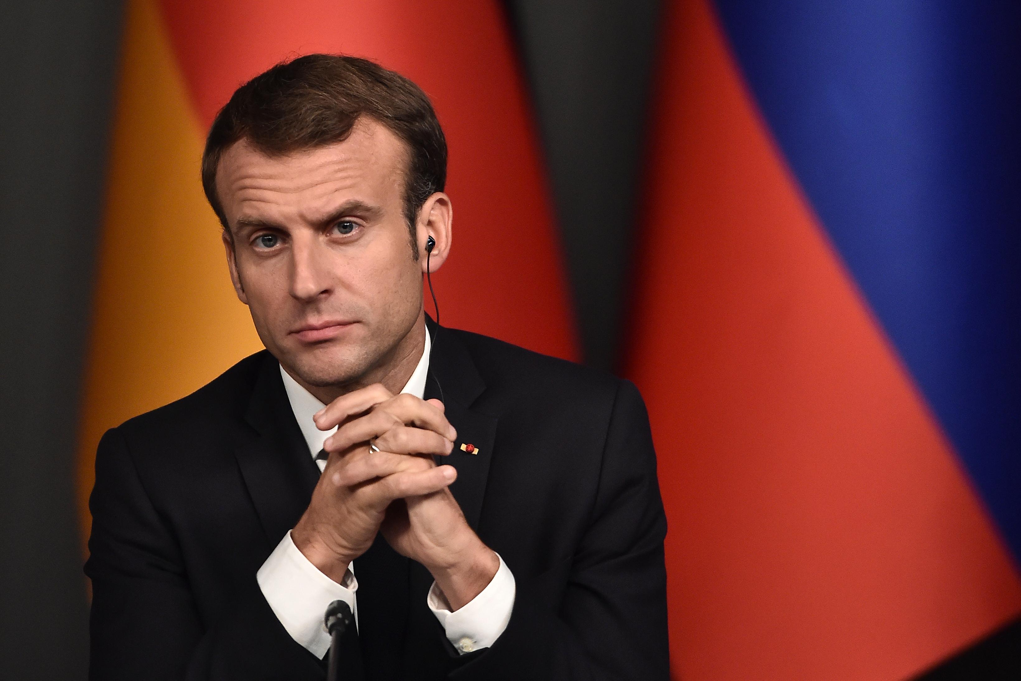 Syrie: Macron assure à des Kurdes syriens le soutien de la France