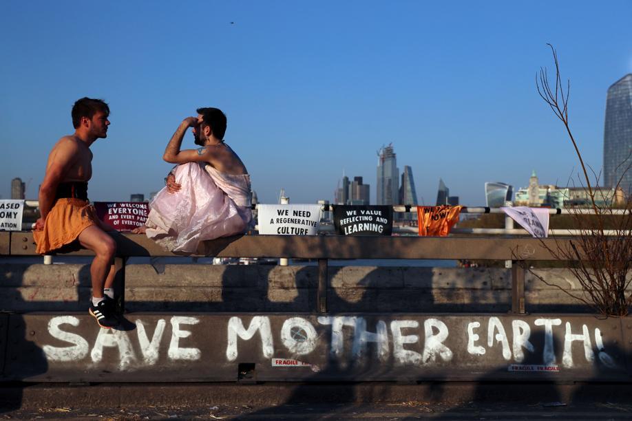 Climat: Extinction Rebellion prêt à faire une «pause» à Londres