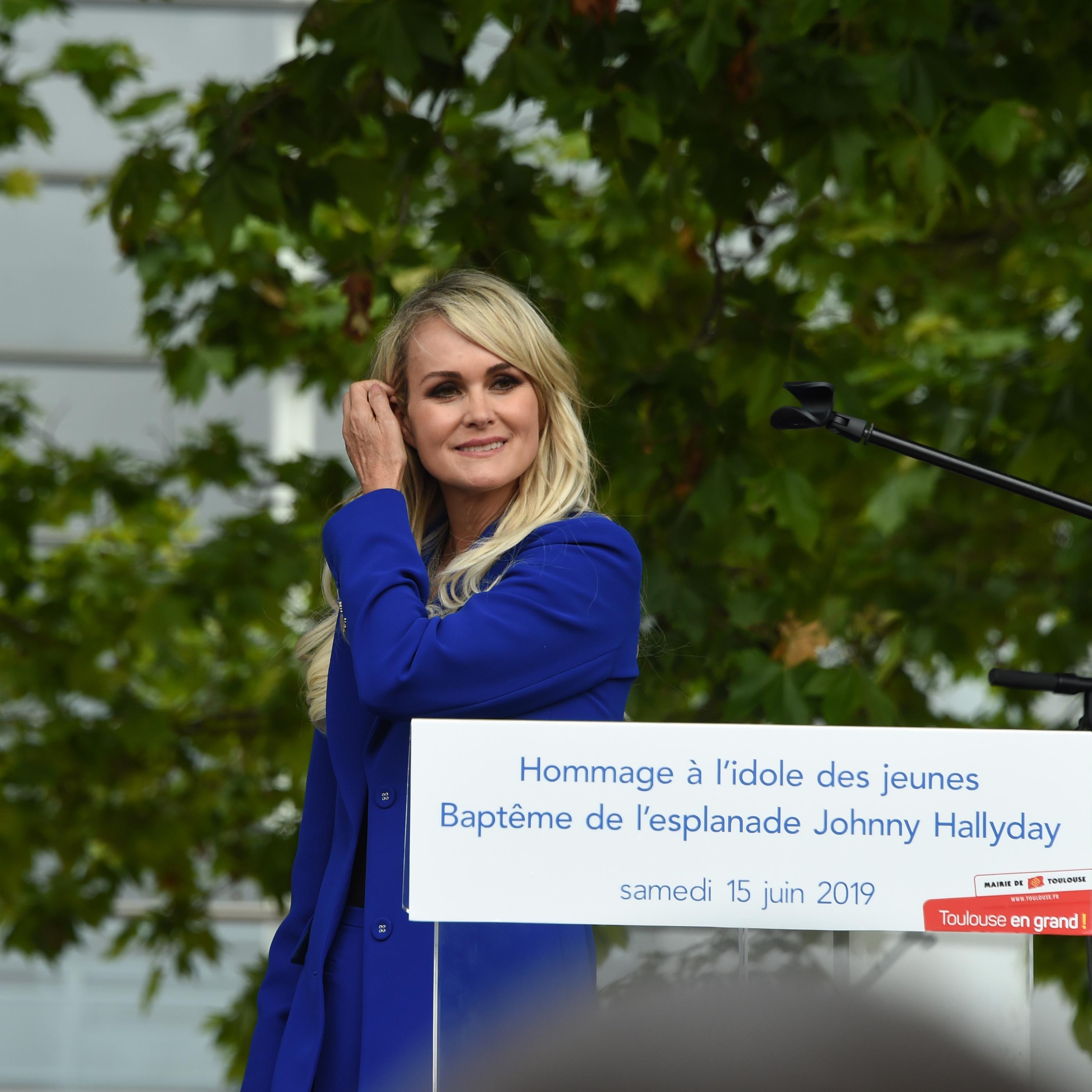 INFO LE FIGARO - Héritage Hallyday: grande victoire de David Hallyday et Laura Smet face à Laeticia Hallyday - Le Figaro image