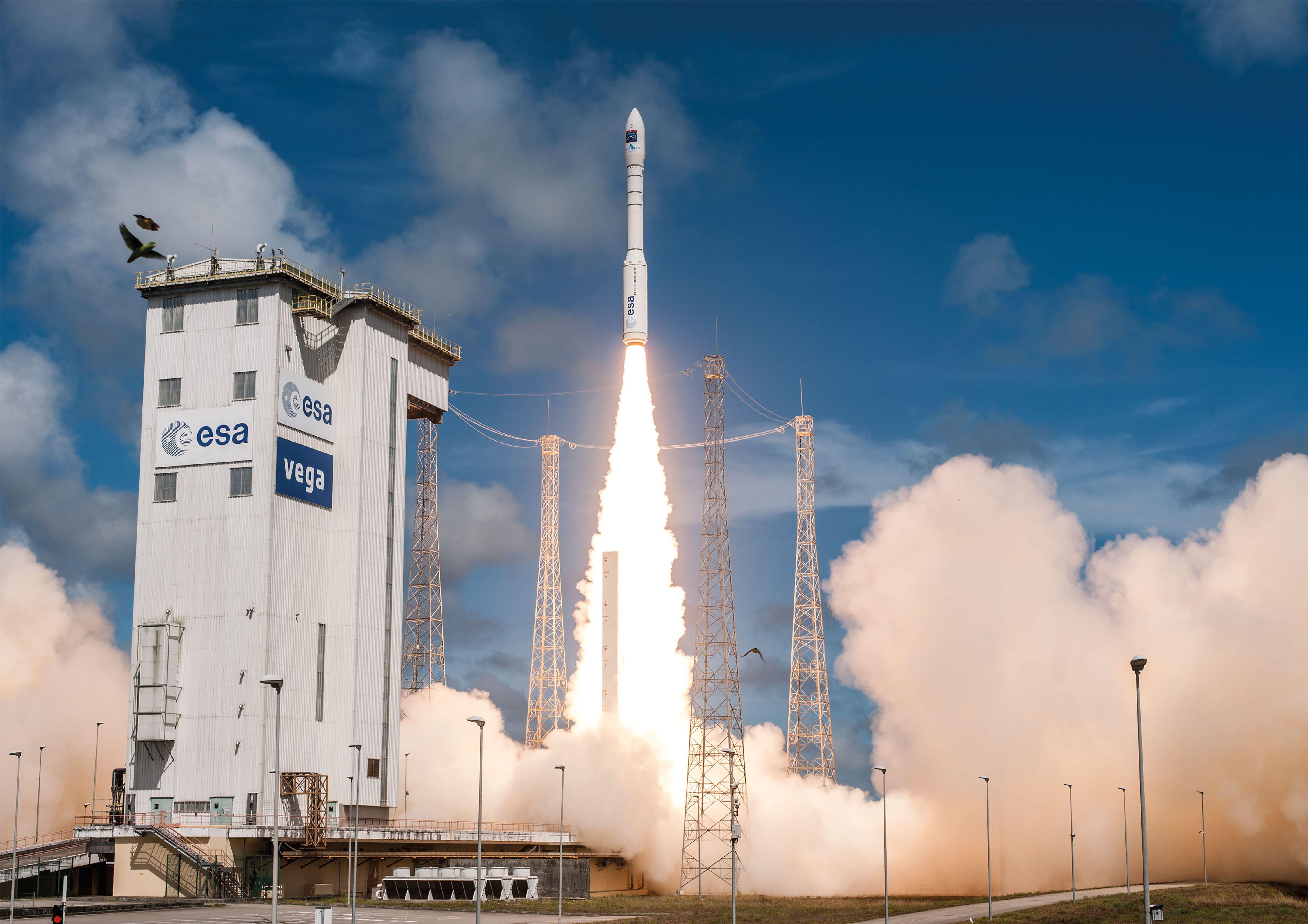 Calendrier Lancement Ariane 2019.Echec Du Lancement D Une Fusee Vega