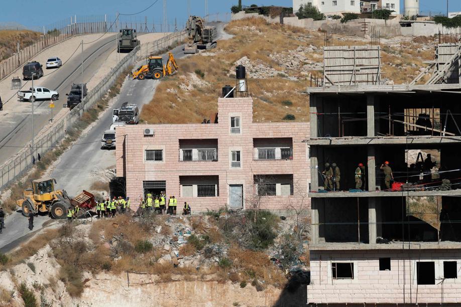 Israël commence la démolition de maisons palestiniennes près de Jérusalem