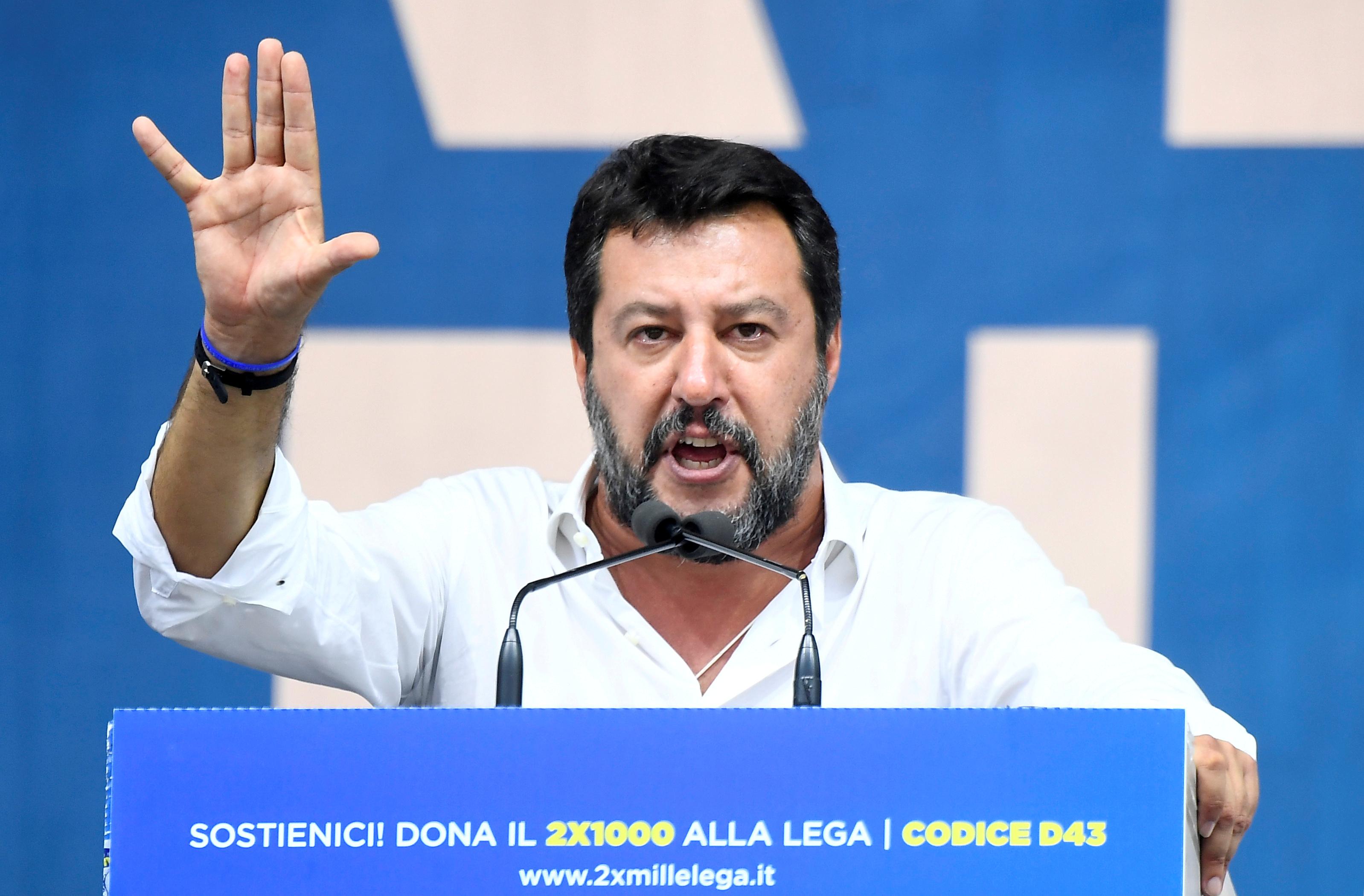 Salvini : «La Turquie doit être stoppée, et très rapidement»