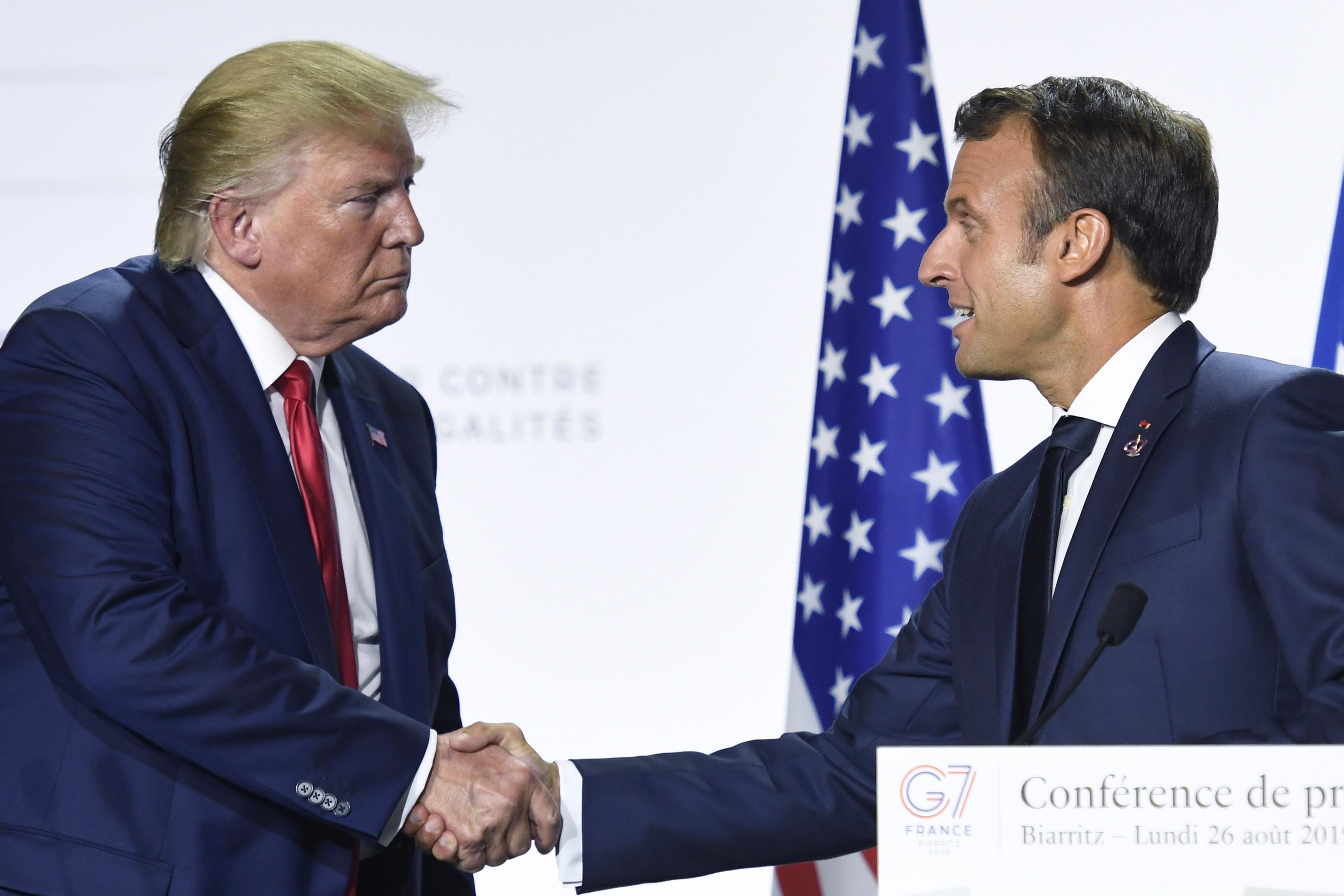 Entretien Macron-Trump sur la Syrie, l'Iran et l'Otan