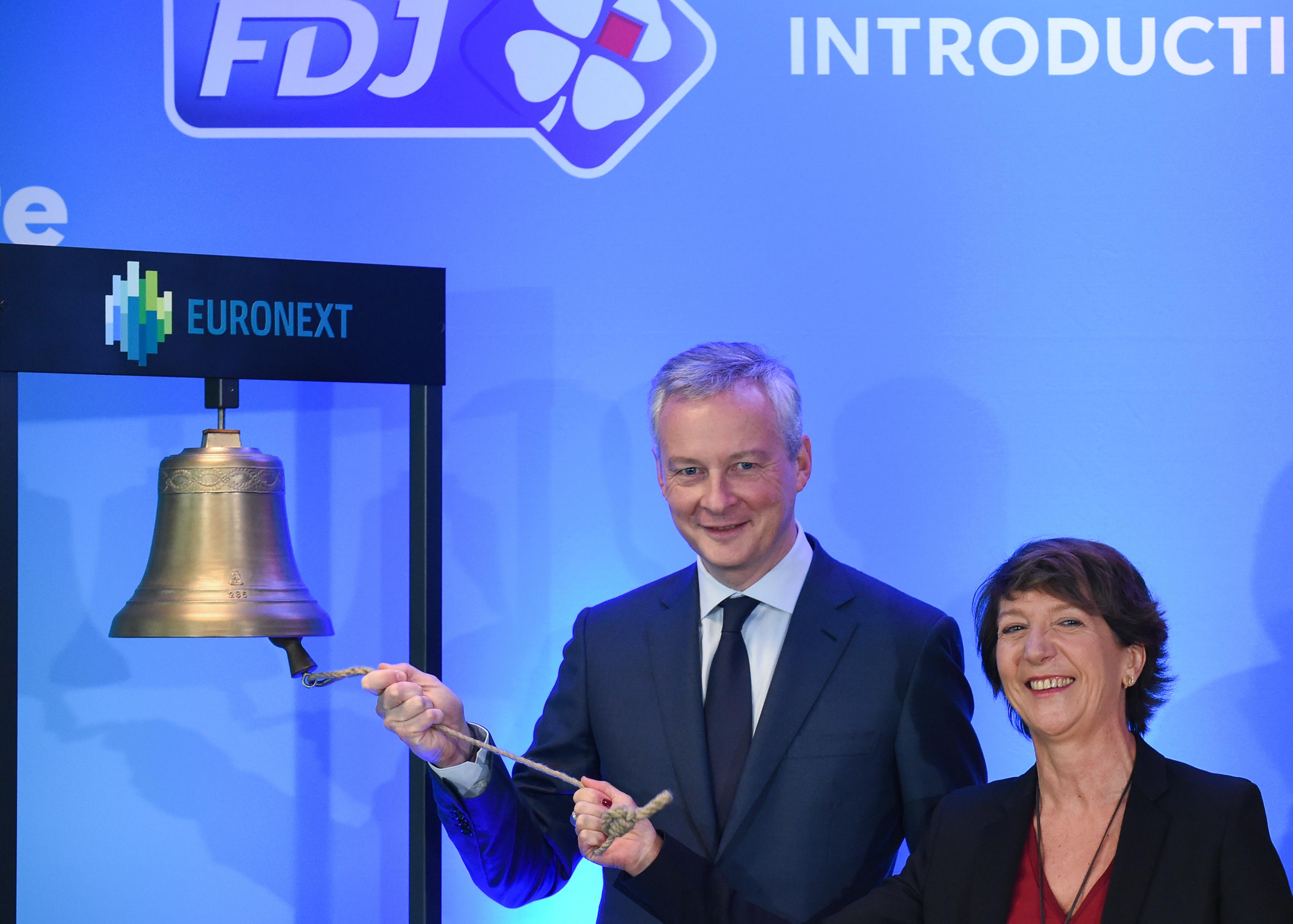 Bourse : la Française des Jeux dépasse 22 euros pour sa première cotation