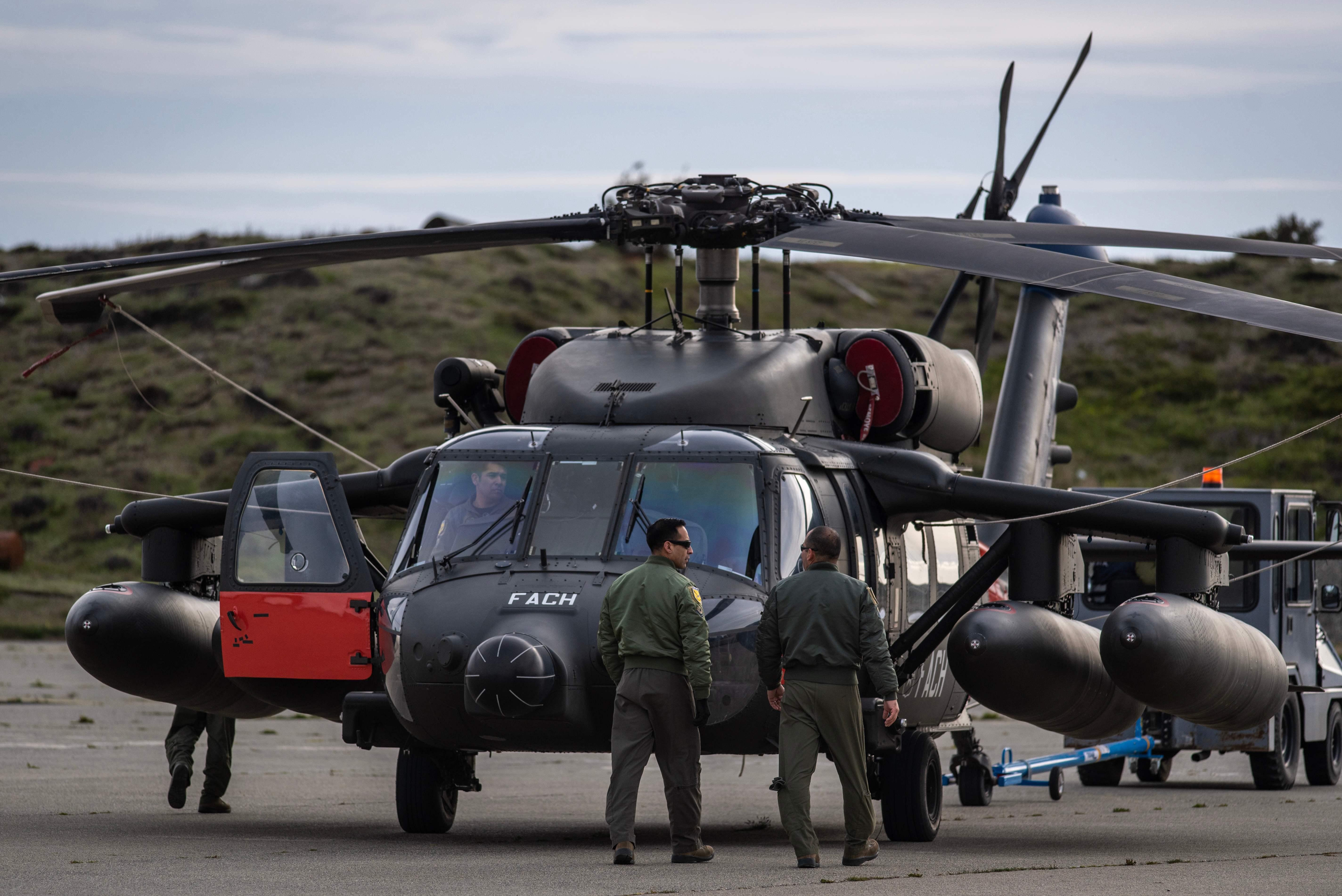 Chili : des débris retrouvés en mer sur le site de la disparition d'un avion militaire