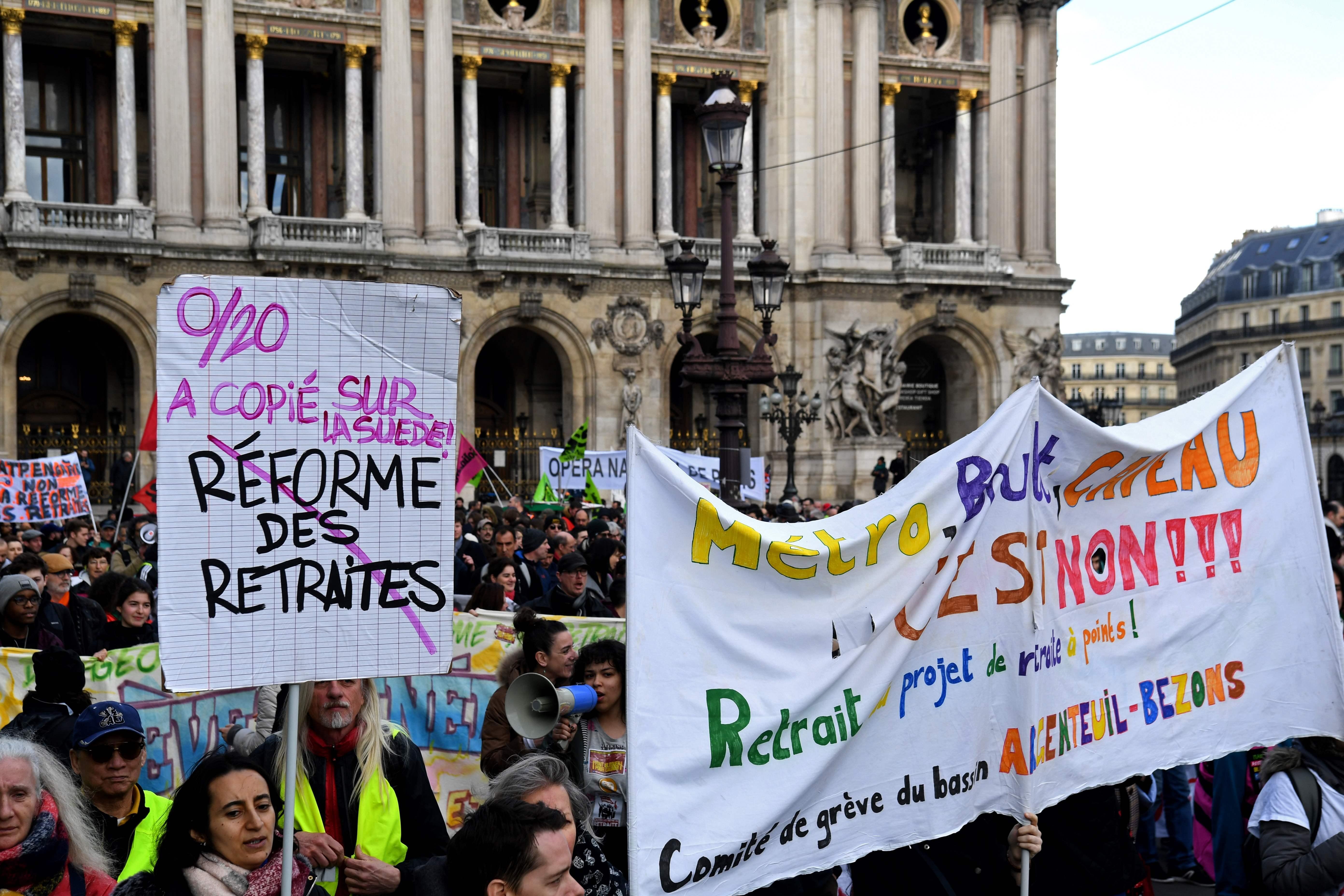 Grève contre la réforme des retraites : à quoi faut-il s'attendre ce jeudi 20 février ?
