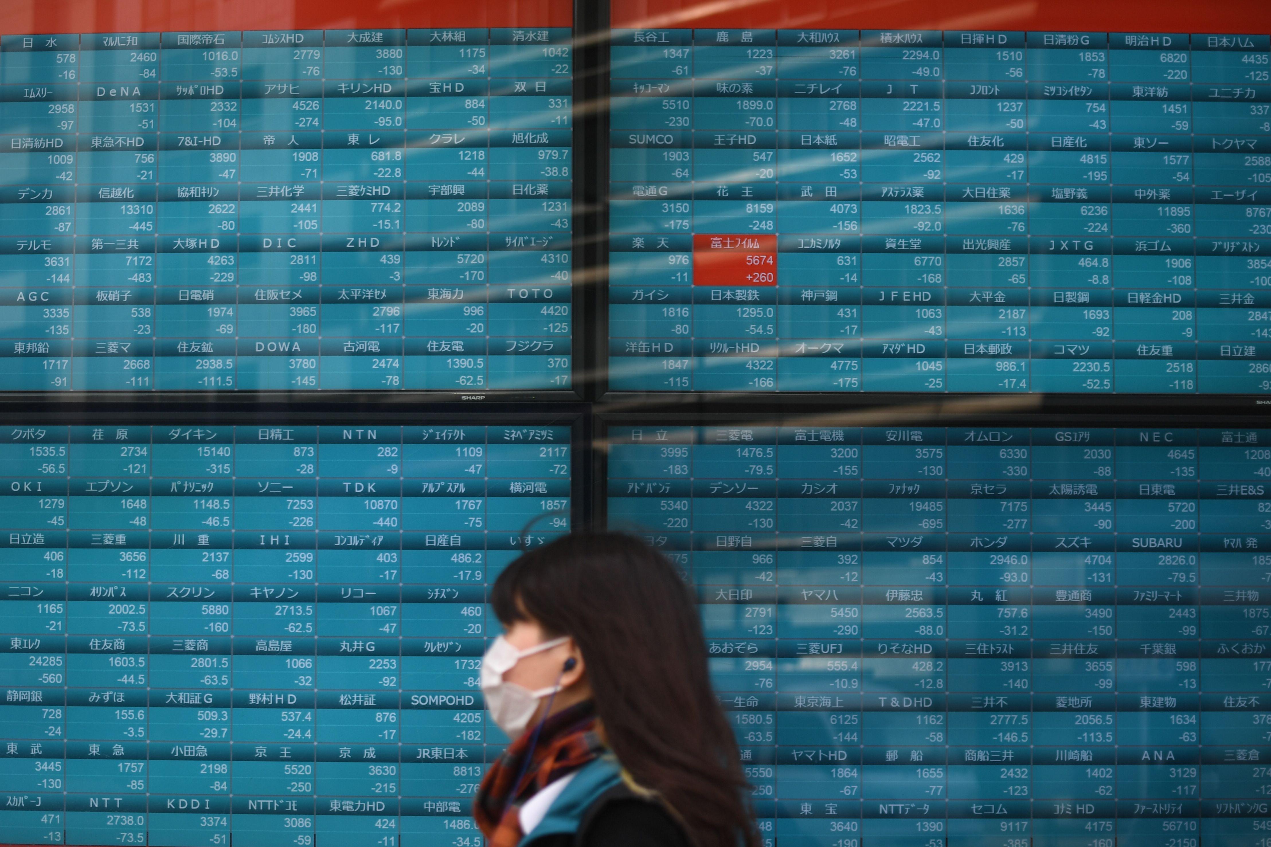 Les Bourses asiatiques s'effondrent face à l'avancée du coronavirus