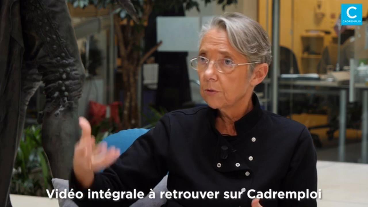 Élisabeth Borne : «Les cadres ne sont pas prisonniers de leur formation initiale»