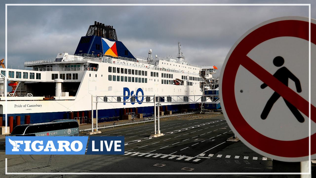Le port de Calais entre regrets et soulagement après le Brexit