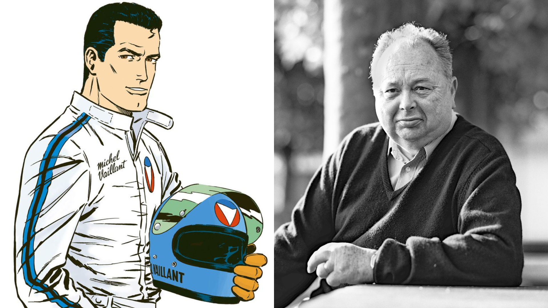 Quand Jean Graton racontait Michel Vaillant, «superstar du volant»
