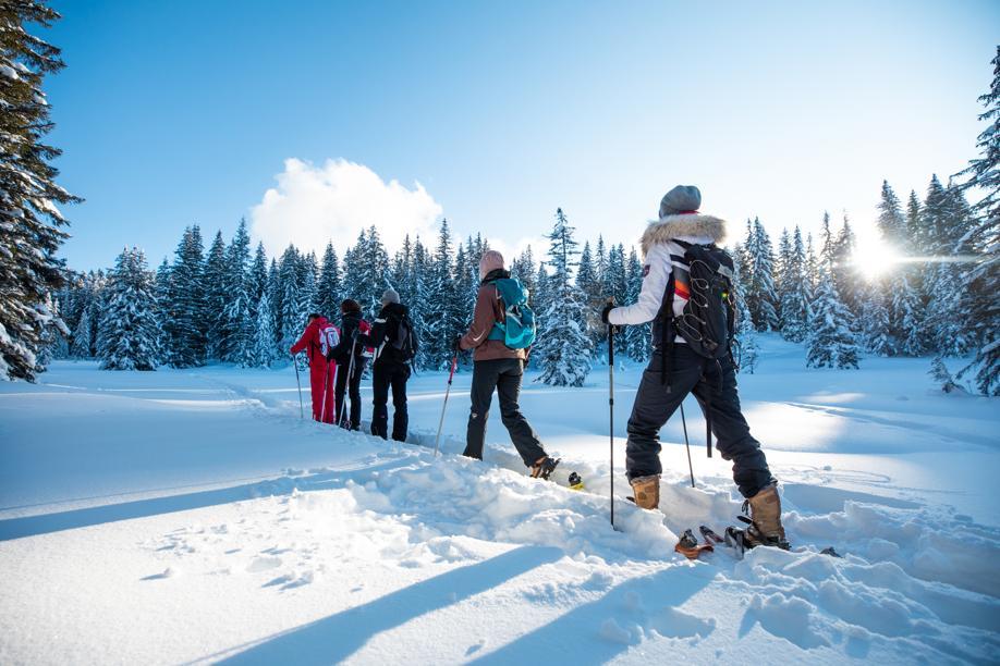 Sans les remontées mécaniques, Les Gets réenchantent les sports d'hiver