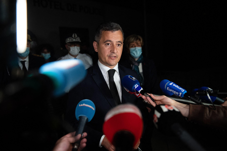 Policier tué à Avignon: «les trafiquants ne vont pas gagner», affirme Darmanin