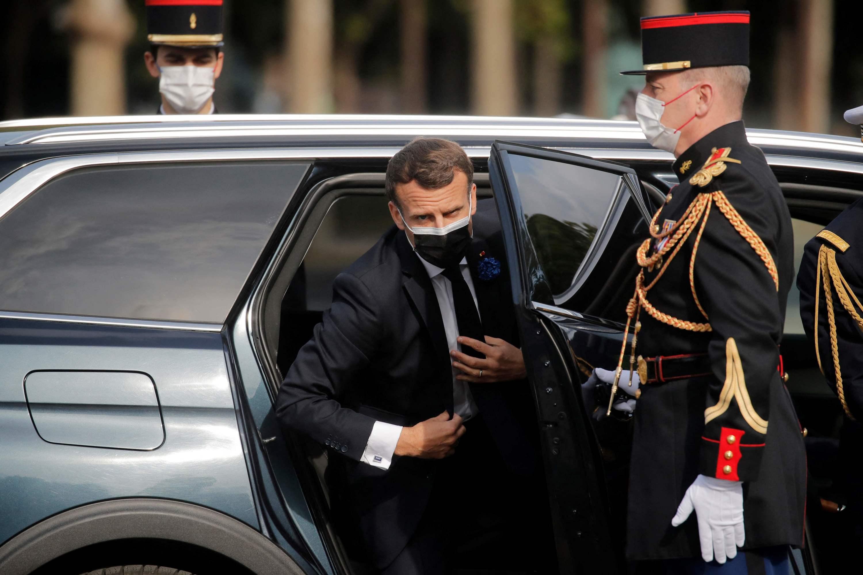 Macron à Strasbourg pour le coup d'envoi de la Conférence sur l'avenir de l'Europe