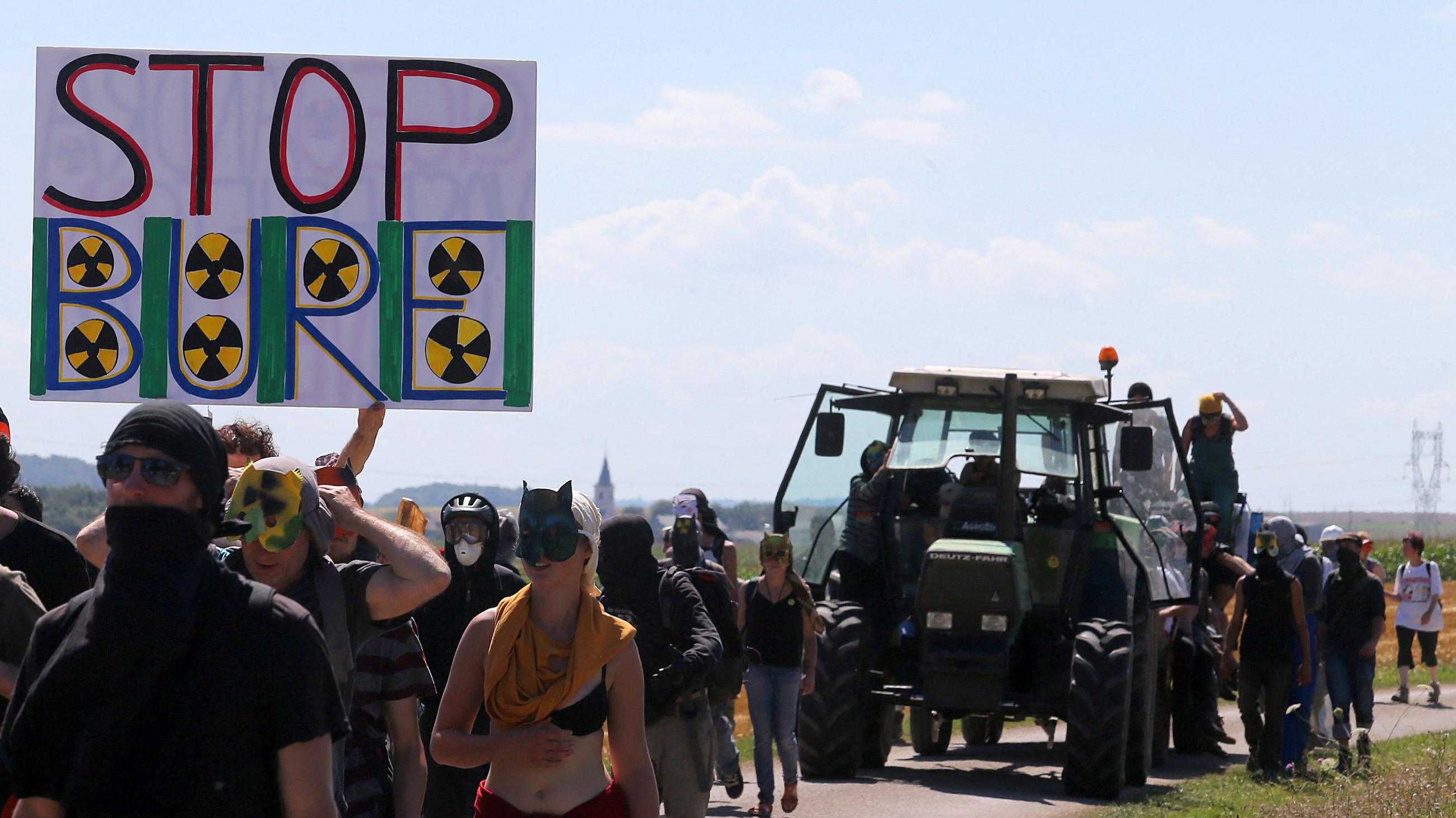 Déchets nucléaires à Bure : sept opposants au projet Cigéo en procès