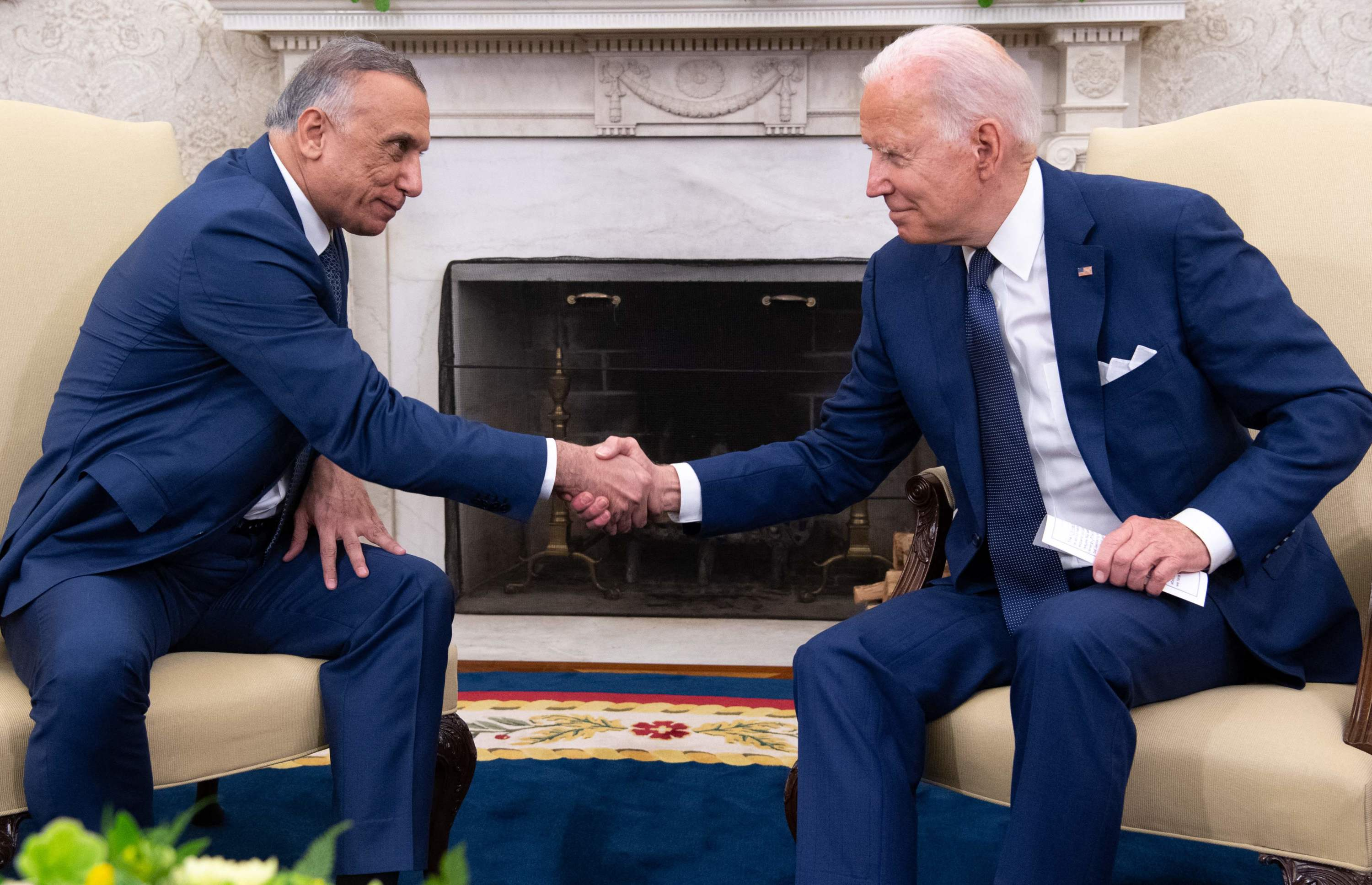 Biden ends US combat mission in Iraq after sealing agreement with PM Al Kadhimi