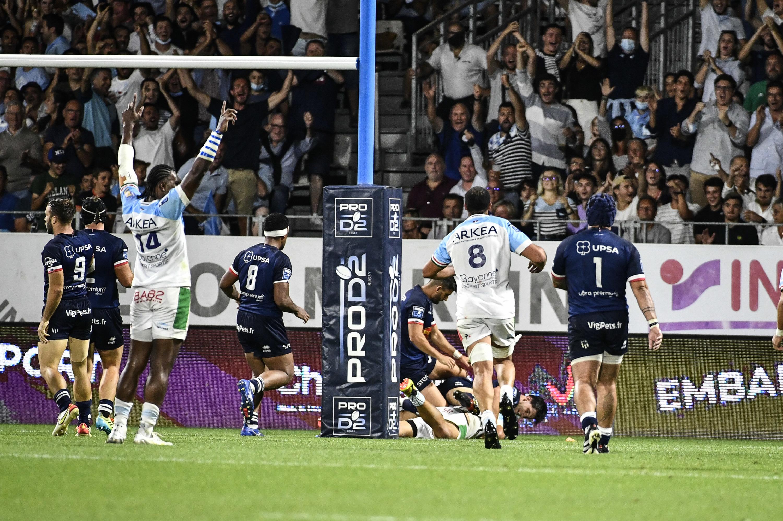 Retour du public, chants vibrants, essai spectaculaire : Bayonne a lancé en beauté la saison de rugby (en vidéos)
