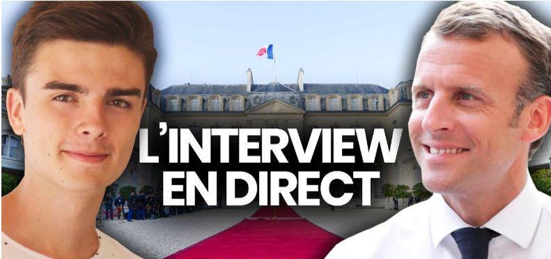 À deux jours du scrutin, Macron face à un youtubeur pour s'adresser aux jeunes