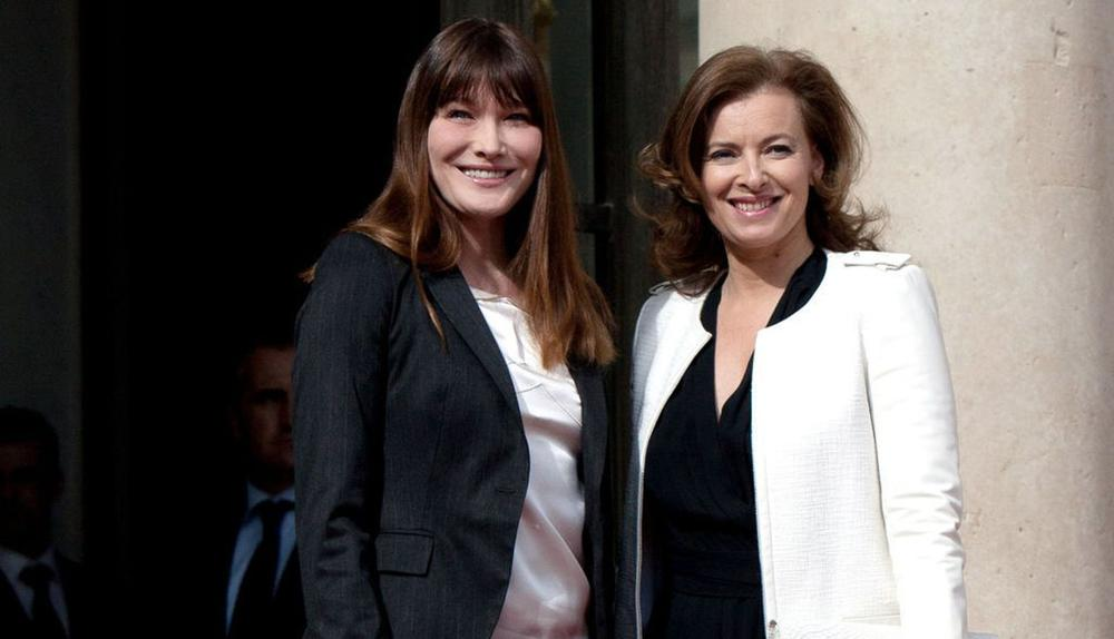 Brigitte Macron, Carla Bruni et moi: les confidences de Valérie Trierweiler