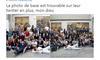 Des élèves d'une école lyonnaise ont été colorisés en noir sur une publicité destinée aux USA