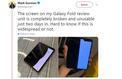 Galaxy Fold: des journalistes ont déjà cassé le smartphone pliable de Samsung