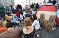 «Extinction Rebellion France»: des militants écologiques ont investi la Défense