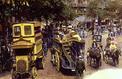 Paris: la première ligne d'autobus révolutionne les transports en 1906