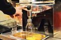 Le succès des machines à jus d'orange installées en magasin
