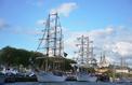 L'Armada est entrée en Seine à Rouen