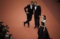 Cannes sous l'objectif: jour 8, Jean Dujardin et Gilles Lellouche admirent l'élégance de Marion Cotillard