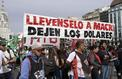 En Argentine, la colère enfle contre l'inflation galopante et Mauricio Macri