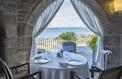 Le Brittany, à Roscoff: la mer et un dessert à l'artichaut