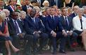 Macron et Sarkozy main dans la main pour commémorer le débarquement de Provence