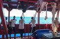 Après l'Open Arms, les 356 rescapés de l'Ocean Viking restent bloqués en mer