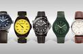 Cinq montres masculines à l'heure de la rentrée