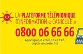 Pic de chaleur : le téléphone Canicule info service est activé