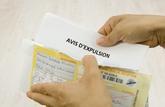Les expulsions de locataires recommencent dès le 1er avril