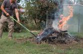 Mon voisin brûle des déchets verts dans son jardin