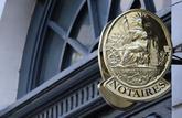 La baisse des tarifs des notaires est reportée à 2021