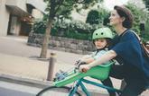 Promener ses enfants à vélo